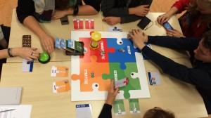 foto spel HU studenten